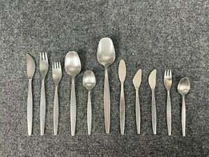 * Gense * FOCUS Sweden Mid Century Stainless Steel Flatware YOUR CHOICE WOW!
