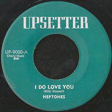 """HEPTONES - I DO LOVE YOU - UPSETTER 1972 LEE PERRY ORIG REGGAE 45 7""""- Listen"""