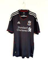 Liverpool lejos de Superdry en gris 2011. Adidas Adultos S Manga Corta Top de fútbol
