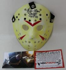 HORROR AUTOGRAPHS Derek Mears Signed Mask Jason Voorhees Autograph Friday 13th