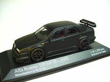 1:43 MINICHAMPS 1993 Alfa Romeo 155 V6 Ti Homologation in Black Exclusive KYOSHO