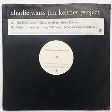"Charlie Watts / Jim Keltner Project - Elvin Suite 12"" Vinyl Promo Rolling Stones"