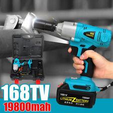 "168TV Cordless Impact Wrench 1/2"" Compact Driver Socket 330 N. m +Li-ion"