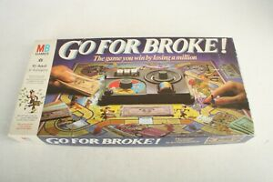 Go For Broke! Board Game By MB Games.