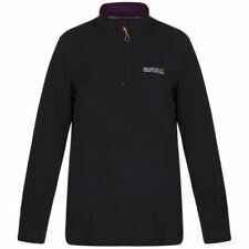 Regatta Ladies Sweethart Overhead Fleece Rwa027 Black/blackcurrant 14