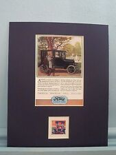 The Tin Lizzie - Henry Ford develops the Model T Ford honored by its own stamp