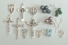 Rosary Making Kit With Glass Pearl Beads