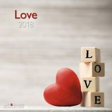 CALENDRIER 2018 - LOVE - 30 x 30 cm