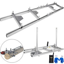 Vevor 14 To 36 Chainsaw Mill Planking With Milling Rail Guide Sets