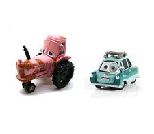 Disney Pixar Movie Cars Diecast Toy Tractor & Bad DR Professor Z Loose