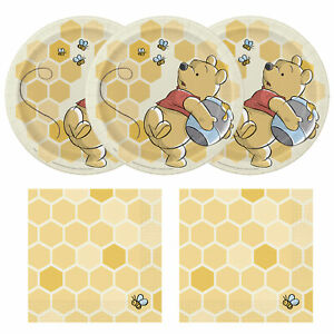 Winnie The Pooh Happy Birthday Standard Party Pack - Serves 24