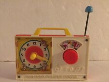 Vintage 1971 Fisher Price Hickory Dickory Doc Wind-up clock #107