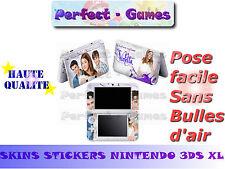 Skin sticker auto-collant vinyl Violetta n°1 pour console nintendo 3DS XL LL