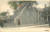Old Narbonne House Salem Massachusetts undivided Rotograph postcard 10173