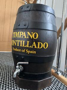 MAN CAVE BAR RARE VINTAGE RETRO LARGE TIMPANO CREAM SHERRY DRINK BEER BARREL