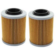 2pcs Oil Filter for APRILIA ETV1000 2001 2002 RSV MILLE SP TUONO 1000R 2008 2009