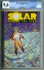 SOLAR MAN OF THE ATOM #1 CGC 9.6 WHITE PAGES