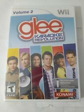 Karaoke Revolution Glee Vol 2 Nintendo Wii Brand New Fun Singing Game 4 Players