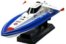 "Mini Tracer Remote Control RC Speed Boat 2 CH White 380 Motor 17"" New"