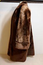 SheepSkin Sheared Lamb Mouton Teddy Bear Plush Real Fur  Swing Stroller Coat