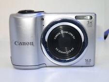Canon PowerShot A810 16.0MP Digital Camera - Silver