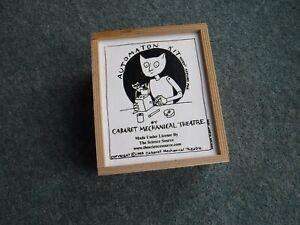 "Cabaret Mechanical Theatre Automata Kit ""Educational"" Various designs in Set"