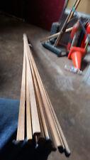 hardwood bullnose mouldings 8mm  2.4m long 12pces