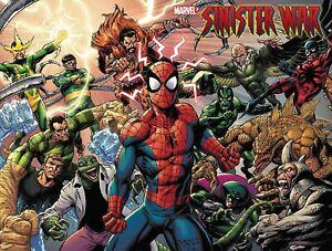 Sinister War#1  NM Marvel Wraparound Cover Bagley PRESALE 07/07/2021