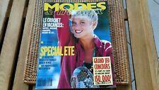 rare revue modes et travaux  POUPEE N°1088  juillet 1991 port compris!