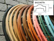 CB ITALIA pair (#2 rims) BACCHETTA vintage wooden rims for clincher tires