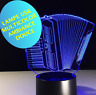 LAMPE ACCORDEON -USB-ambiance -multicolor- chevet enfant- décoration -sans piles