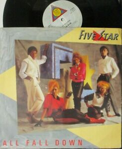 """FIVE STAR ~ All Fall Down ~ 12"""" Single PS"""