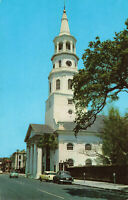 Postcard St Michaels Protestant Episcopal Church Charleston South Carolina