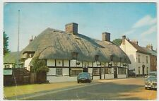Hampshire; The Old Cottage, West St, Ringwood PPC 1968, Note E Type & Mk 2 Jag