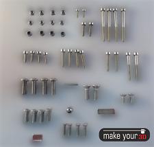Zubehör Set für Prusa 3D Drucker - M3 M4 M5 Schrauben Muttern Magnete Stahlkugel