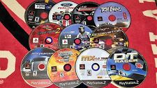 Lot 11- Playstation 2 PS2 Games-UNTESTED-AS IS-SCRATCHED-Midnight Club,TestDrive