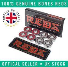 8x Genuine Bones Reds Precision Skateboard/Scooter/Roller Derby Bearings