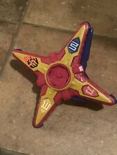 Power Rangers Ninja Steel Deluxe Red Star Battle Morpher Working Electronics