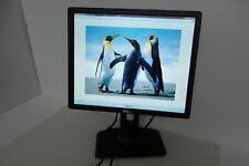 """LOT-5 Dell P1913 LED Monitor 19"""" VGA DVI DP 2-Port USB Swivel P1913Sf P1913Sb"""