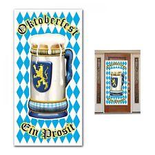 Oktoberfest Bavarian German Beer Festival Party Hanging Door Banner Decoration