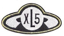 "Fireball XL5 Logo  4"" Wide Embroidered Patch- USA Mailed (FBPA-01)"