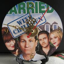 Brand New Married With Children CD Clock Bundy's Comedy Sitcom Nice!!