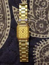Rare Vintage Certina Swiss Quartz Gold Plated Ladies Watch