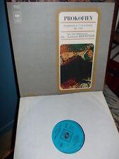 PROKOFIEV: Symphony n°5 > New York Bernstein / CBS England LP stereo VG++