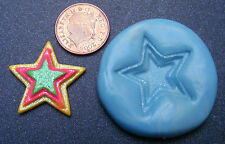Reusable Star Silicone Food Safe Mould, Mold, Sugarcraft, Jewellery, Cake