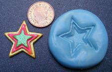 Reutilizable Star Silicona alimentos seguros, molde, moho, Sugarcraft, Joyas, Pastel