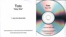 TOTO Holy War 2015 UK 1-trk promo test CD
