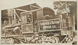 Engine # 1, Shoffner & Hutton Lumber Company, Shelbyville, Tennessee TN RPPC