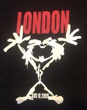 Rare Pearl Jam T Shirt 2009 - London O2 Arena Official Tour Merch Small