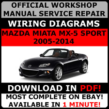 # OFFICIAL WORKSHOP Service Repair MANUAL for MAZDA MX-5 MIATA 2005-2014 #